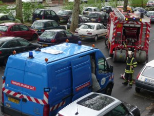 Une fuite de gaz dans le 7e arrondissement