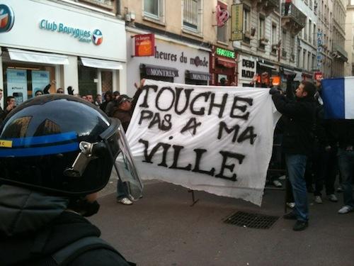 Une manifestation antifasciste ce samedi à Lyon