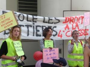 Une manifestation mercredi  contre le fichier base élèves