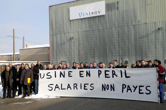 Toujours pas de solutions pour les 88 salariés de Véninov