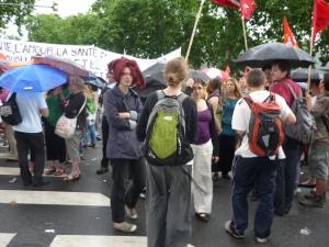 """La """"marches des parapluies"""" a eu lieu dimanche matin"""