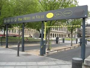 Réouverture du parking Bellecour à Lyon