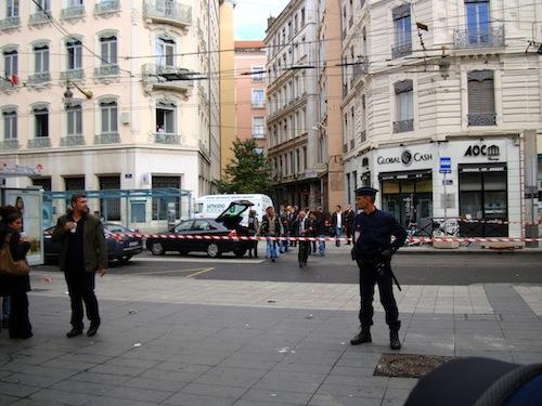 Un homme interpellé vendredi matin après le braquage de l'agence Global Cash