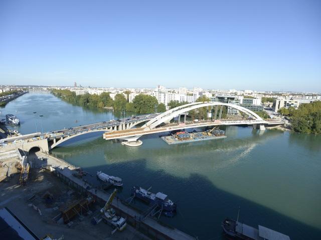 Le Pont Raymond-Barre fait désormais partie du paysage lyonnais