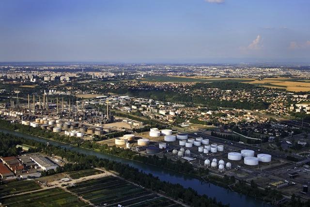 Incident à la raffinerie de Feyzin