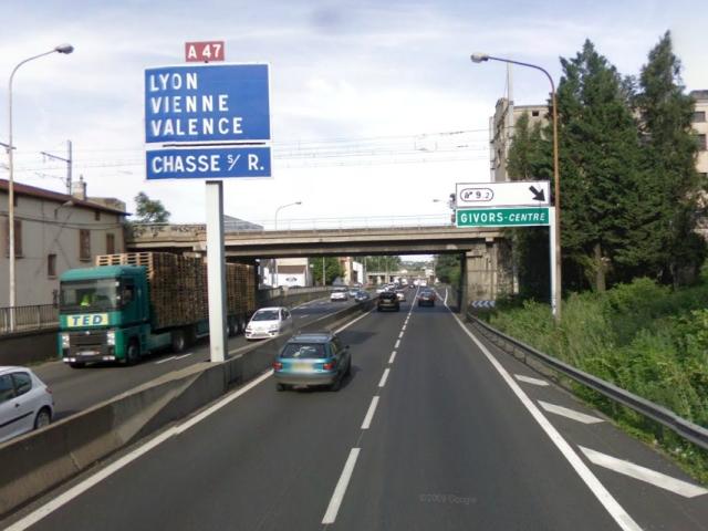 Le viaduc Pasteur sur l'A7 fermé deux week-ends pour des travaux
