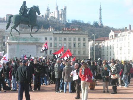 Fronde contre l'extrême droite à Lyon