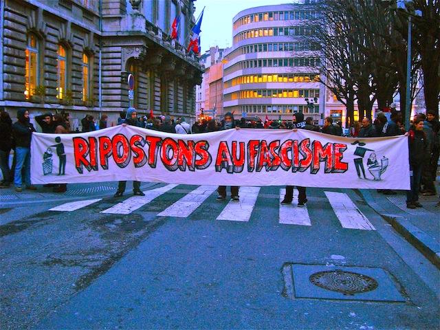 Lyon : forte mobilisation pour dénoncer le local « néo-nazi » de Gerland