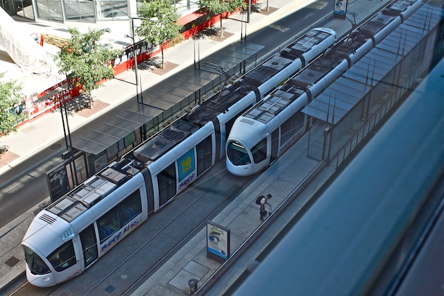 Un nouveau pont sur le Rhône pour le tram