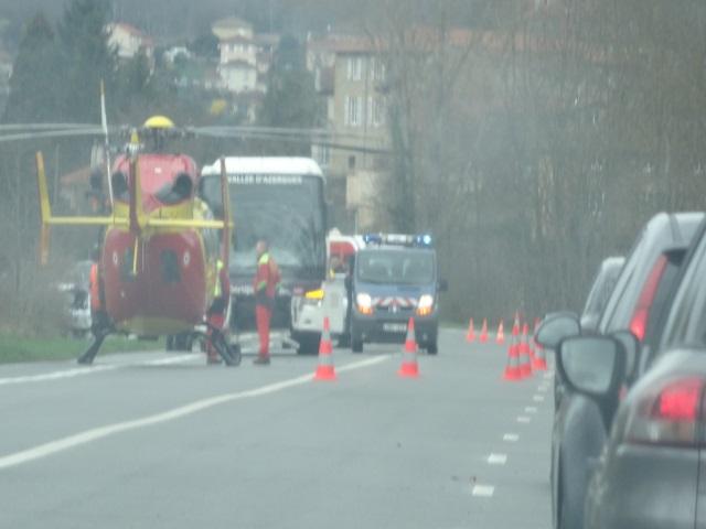 Rhône : un mort dans un accident sur la commune de Châtillon