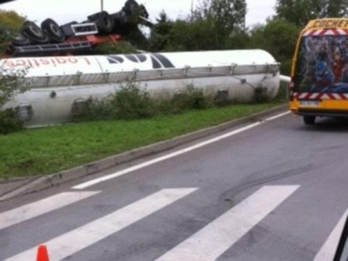 L'A42 coupée en raison d'un accident de camion