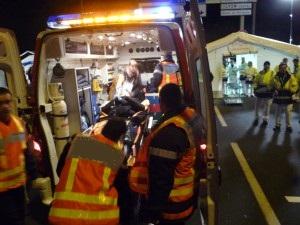 Accident spectaculaire en Beaujolais : une mère et trois enfants sains et saufs