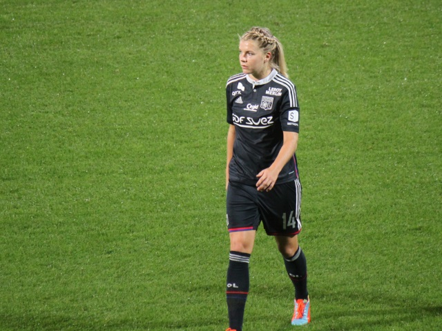 Ada Hegerberg élue meilleure joueuse européenne de la saison