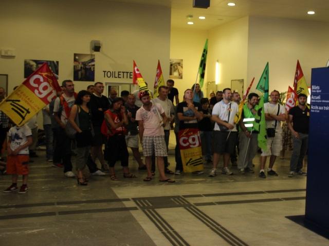 SNCF : la grève reconduite à Lyon jusqu'à lundi matin