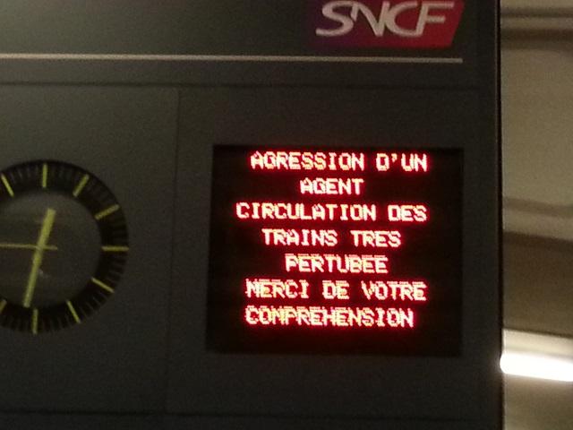 Deux conducteurs de train agressés à la gare de Lyon-Part-Dieu