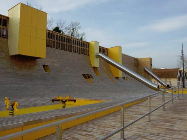 Lyon : une nouvelle aire de jeux au parc Blandan
