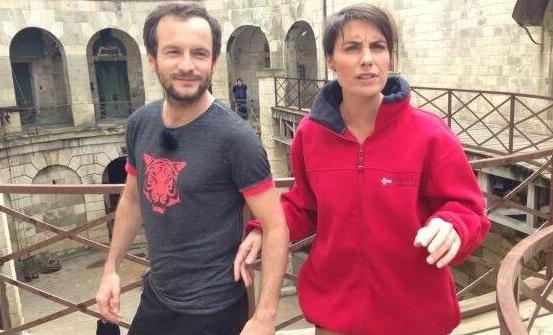 Alessandra Sublet et Jérémy Michalak - DR/ Twitter PA Capton