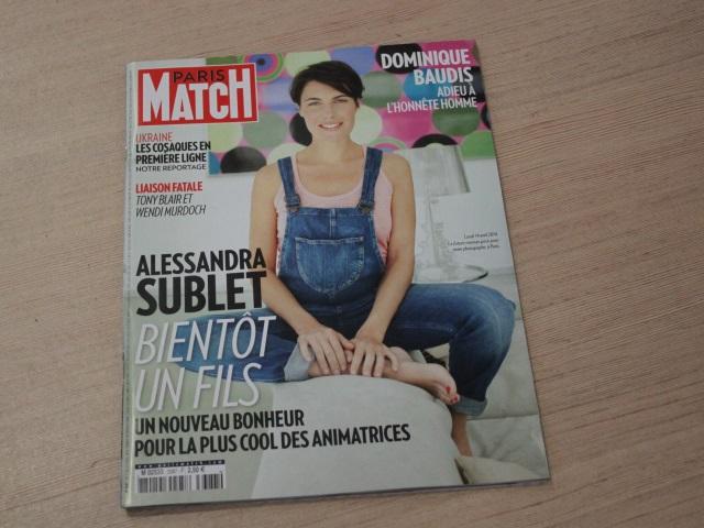 """Alessandra Sublet """"enceinte et zen"""" dans Paris Match se confie sur l'arrivée de son fils"""
