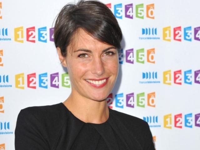 Alessandra Sublet sur France 2 en 2014 avec une émission sur les Inconnus
