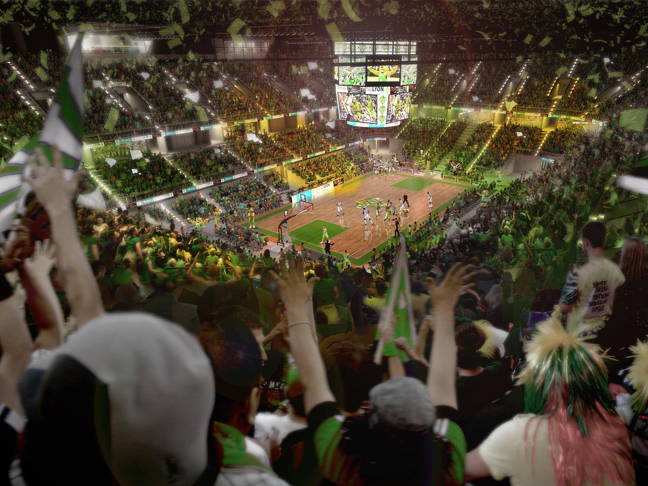 La salle aura une capacité de 10 500 spectacteurs, 12 000 pour les spectacles -DR