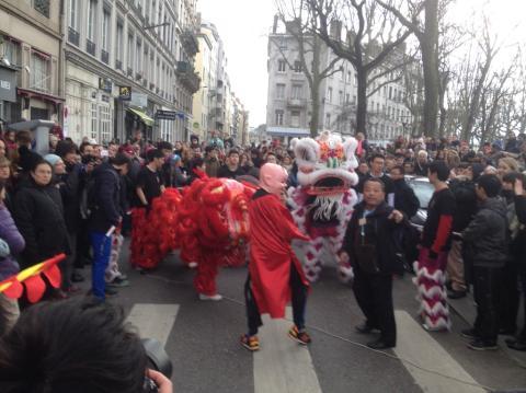 Le Nouvel an chinois, la chèvre et le mouton célébrés à Lyon ce dimanche !