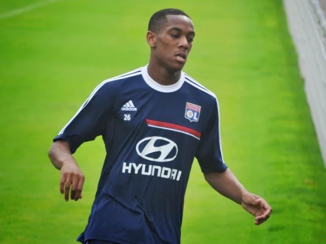 OL: le prochain but d'Anthony Martial va rapporter 2 millions d'euros à Lyon