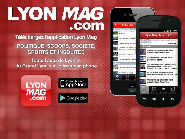 Téléchargez les nouvelles versions des applications LyonMag pour Android et iPhone !