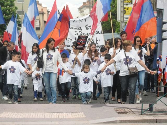 Décines a commémoré ce dimanche le génocide arménien