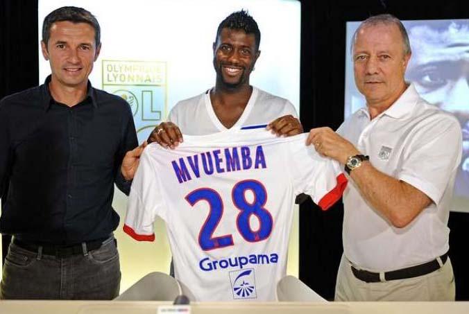 OL : Mvuemba signe une pétition contre l'Euro en Israël