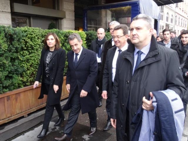 Présidence de l'UMP : un petit tour à Lyon et puis s'en va pour Nicolas Sarkozy