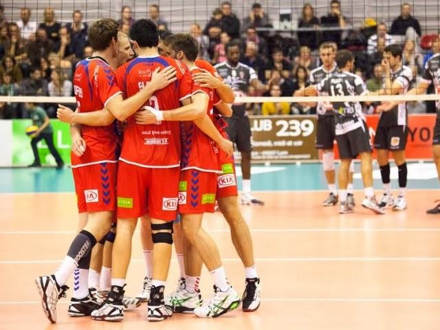 Paris met fin aux rêves de l'ASUL Lyon Volley