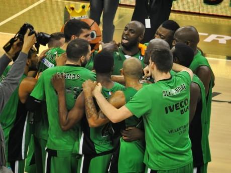 FIBA Cup : l'ASVEL décroche la première place de son groupe