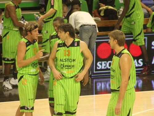 L'ASVEL s'incline de peu à Dijon (63-60)