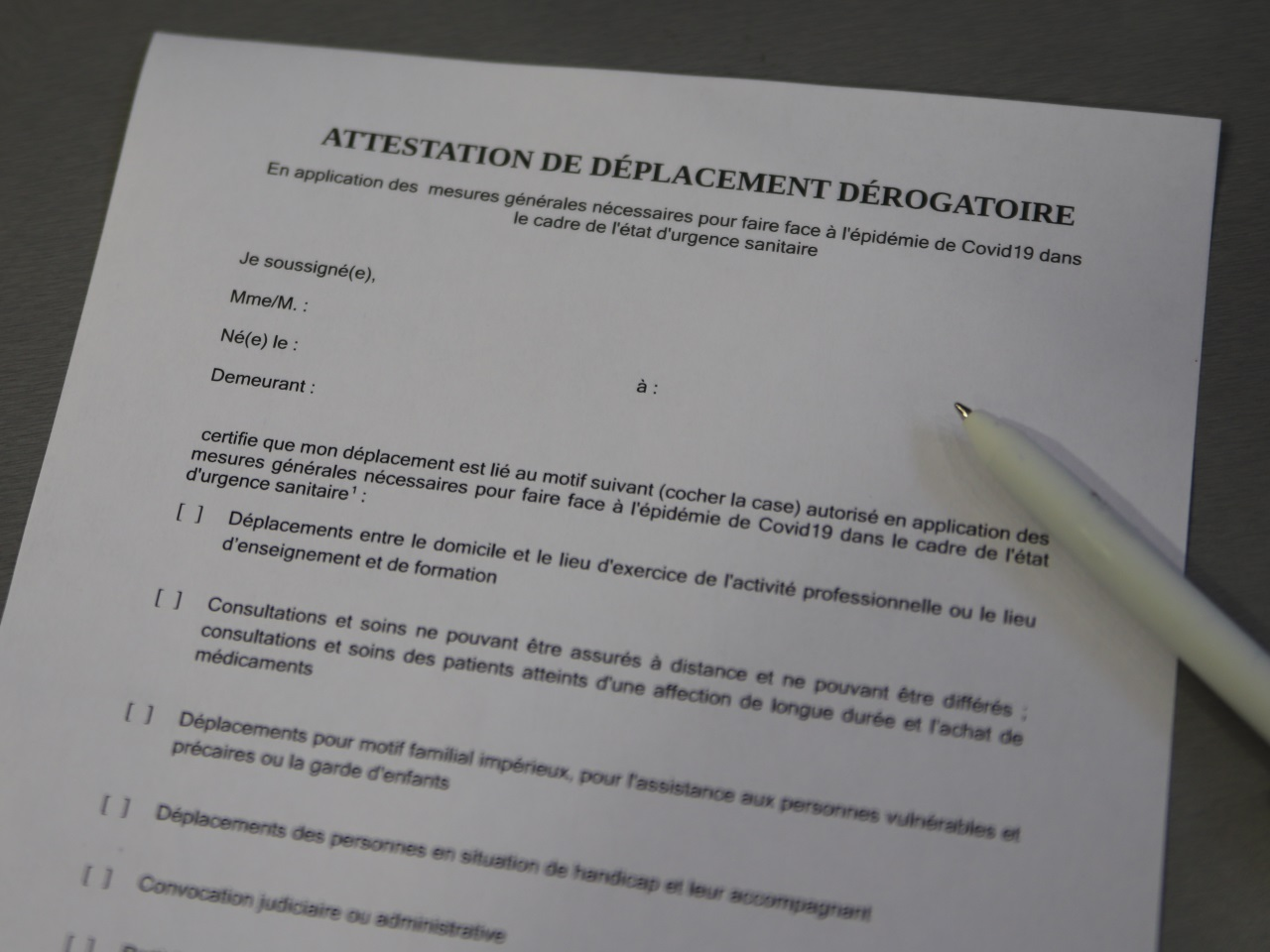 Couvre Feu A Lyon L Attestation De Sortie Est Desormais Disponible