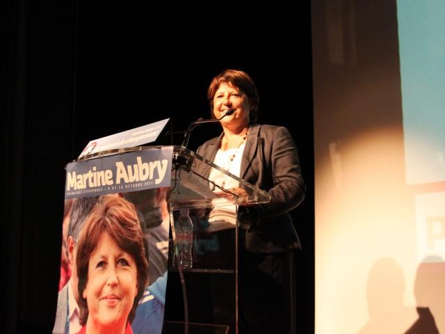 Martine Aubry donne la leçon à Nora Berra