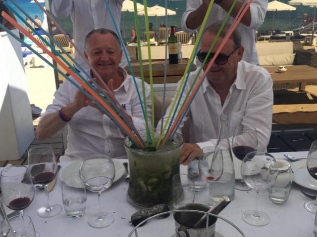 Le séjour bling-bling de l'OL à Saint-Tropez