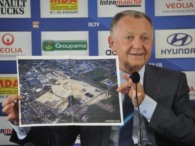 "Grand stade : ""Jamais été aussi proche"" selon Aulas"