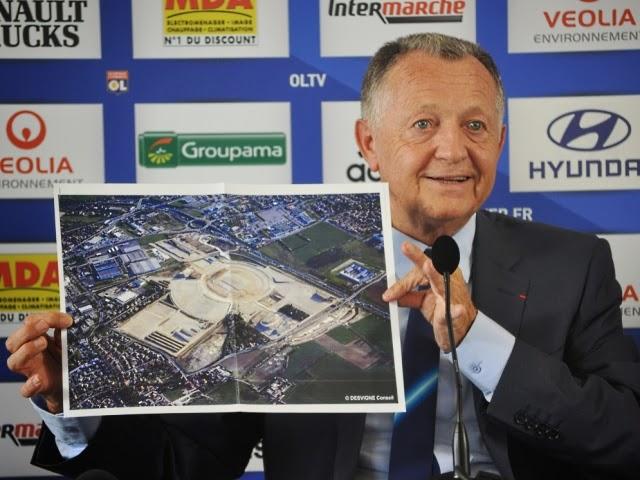 Grand Stade de l'OL : naming et Qatar au programme de Jean-Michel Aulas