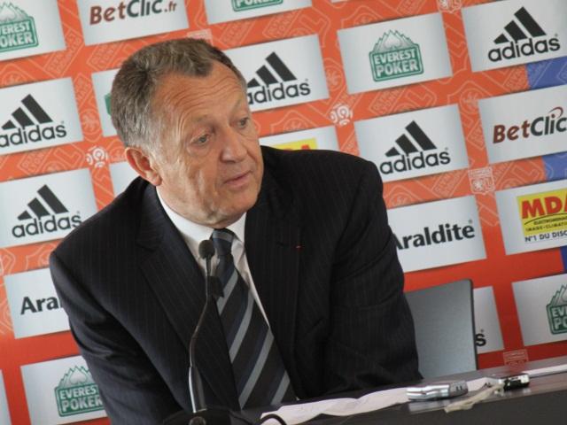 Jean-Michel Aulas, président de l'OL - Photo Lyonmag.com