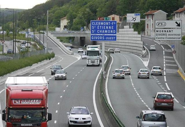 Une voie ferrée avec l'A45 entre Lyon et St-Etienne ?
