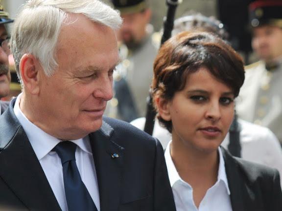 """Prostitution : Najat Vallaud-Belkacem ne veut pas """"nécessairement"""" emprisonner les clients"""