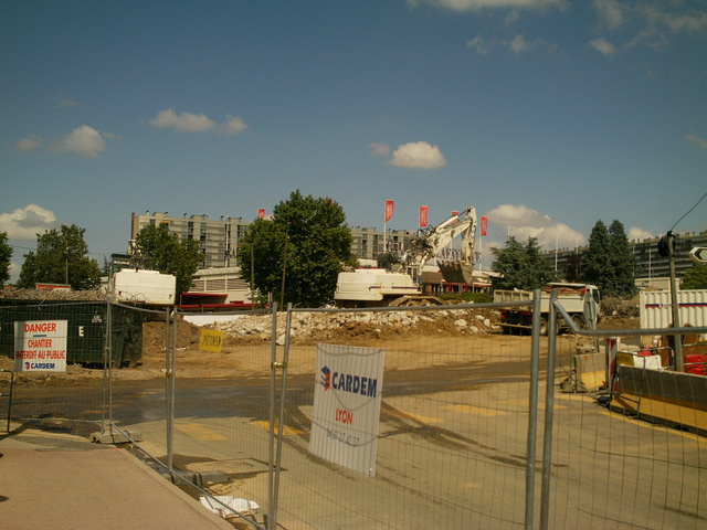 Le chantier Mermoz-Pinel à Bron finira plus tôt que prévu