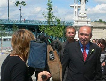 Gérard Collomb demande au préfet de saisir du dossier de la sécurité sur les berges du Rhône