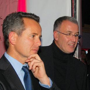 Gilles Vesco et Eric Desbos