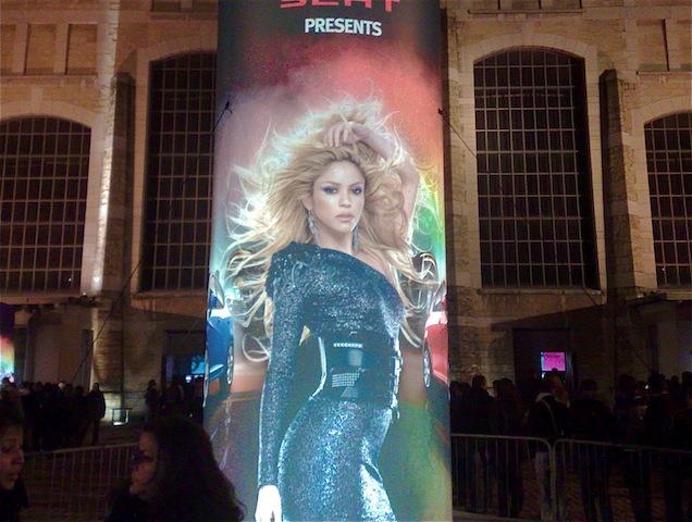 Shakira a lancé son European Tour à Lyon