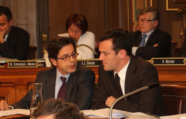 La droite lyonnaise réagit à la candidature de Gérard Collomb