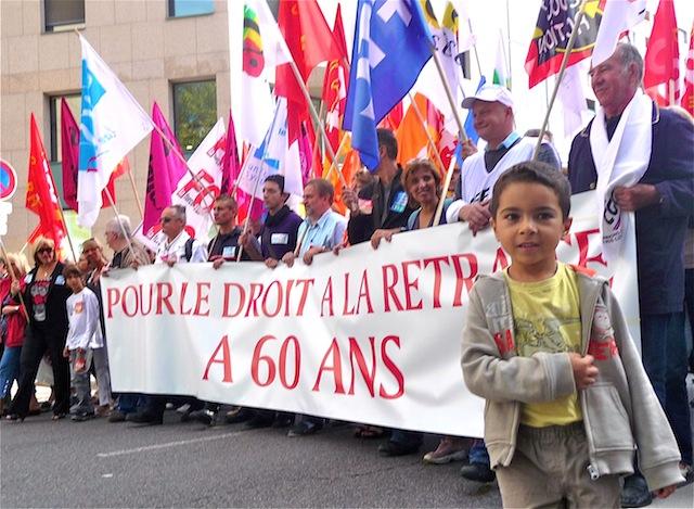 Entre 18 000 et 36 000 personnes dans les rues de Lyon jeudi