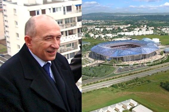 OL Land : Quand Gérard Collomb évoque « le stade du Grand Lyon » !