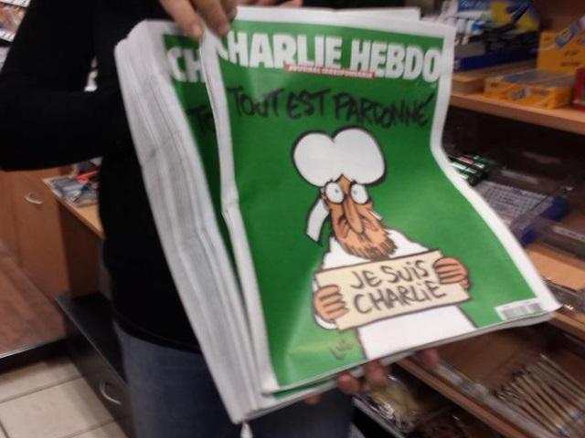 A Lyon, Charlie Hebdo s'est arraché en quelques minutes !