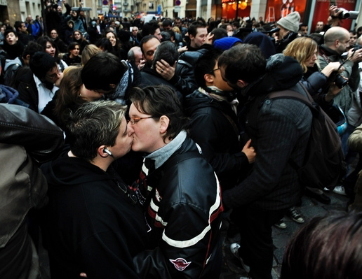 Kiss-in : les baisers de la discorde